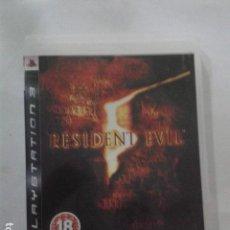 Videojuegos y Consolas: RESIDENT EVIL 5. SONY PLAYSTATION 3. Lote 171634673
