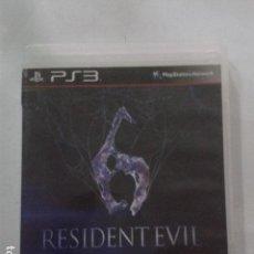 Videojuegos y Consolas: RESIDENT EVIL 6. SONY PLAYSTATION 3. Lote 171634957
