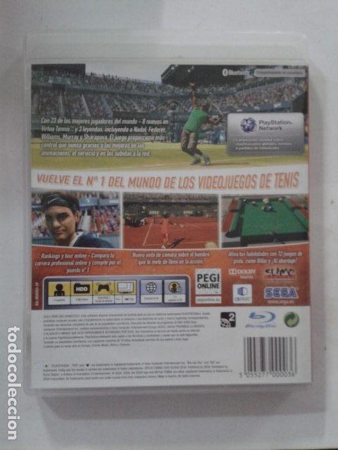 Videojuegos y Consolas: VIRTUA TENNIS 2009 SEGA TENIS PS3 - Foto 2 - 171735069