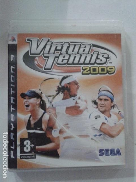 VIRTUA TENNIS 2009 SEGA TENIS PS3 (Juguetes - Videojuegos y Consolas - Sony - PS3)
