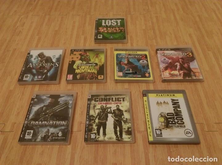LOTE DE 8 JUEGOS DE PS3 (Juguetes - Videojuegos y Consolas - Sony - PS3)