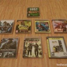 Videojuegos y Consolas: LOTE DE 8 JUEGOS DE PS3. Lote 171760229