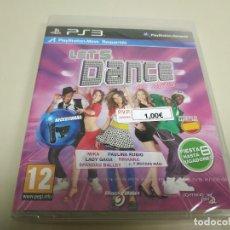 Videojuegos y Consolas: JJ- LET´S DANCE WHIT MEL B PS3 ESPAÑA NUEVO PRECINTADO(1). Lote 172067220