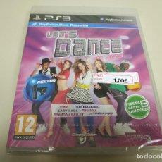 Videojuegos y Consolas: JJ- LET´S DANCE WHIT MEL B PS3 ESPAÑA NUEVO PRECINTADO(2). Lote 172067419