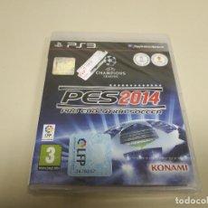 Videojuegos y Consolas: JJ- PES 2014 PS3 ESPAÑA NUEVO PRECINTADO(3). Lote 172068890