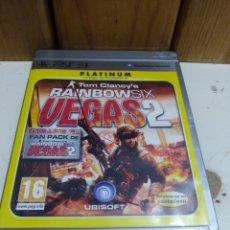 Videojuegos y Consolas: JUEGO PS3 TOM CLANCY'S RAINBOWSIX VEGAS 2. Lote 172145575