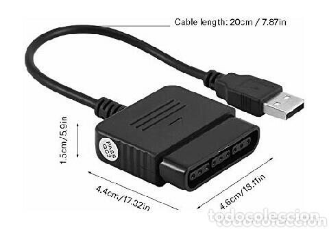 Videojuegos y Consolas: USB convertidor Ps2 a PS3, PC etc (2 unidades) - Foto 2 - 172339724
