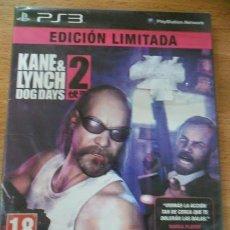 Videojuegos y Consolas: KANE AND & LYNCH DOG DAYS 2 EDICION LIMITADA - PS3 PLAYSTATION 3 PAL ESP. Lote 172569563