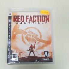 Videojuegos y Consolas: J7- RED FACTION GUERRILLA PS3 VERSION ESPAÑOLA NUEVO PRECINTADO. Lote 172644525