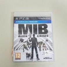 Videojuegos y Consolas: J7- MIB ALIEN CRISIS PS3 VERSION ESPAÑOLA NUEVO PRECINTADO. Lote 172694280
