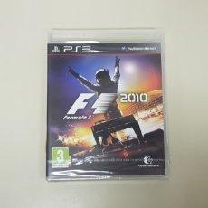 Videojuegos y Consolas: J7- FORMULA 1 2010 PS3 VERSION ESPAÑOLA NUEVO PRECINTADO. Lote 172699723