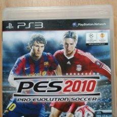 Videojuegos y Consolas: PRO EVOLUTION SOCCER 2010 - PES 2010 (PS3). Lote 172922660