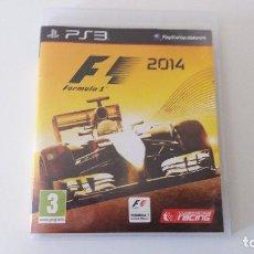 Videojuegos y Consolas: FORMULA 1 2014 (PS3). Lote 172960184