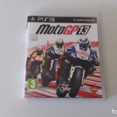 Videojuegos y Consolas: MOTOGP 13 (PS3). Lote 172961185