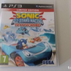 Videojuegos y Consolas: SONIC ALL-STARS RACING TRANSFORMED (PS3) LIMITED EDITION. Lote 172961842