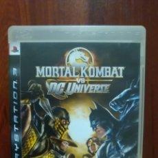 Videojuegos y Consolas: MORTAL KOMBAT VS DC UNIVERSE - SONY PLAYSTATION 3 - PS3 - FISICO - LUCHA. Lote 173276552