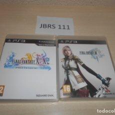 Videojuegos y Consolas: PS3 - FINAL FANTASY X/X-2 HD REMASTER + FINAL FANTASY XIII. Lote 173495909