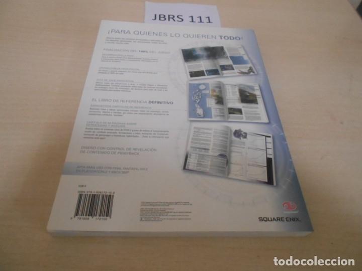 Videojuegos y Consolas: GUIAS - GUIA FINAL FANTASY XIII-2 + JUEGO ORIGINAL , EDICIONES ESPAÑOLAS , COMPLETO - Foto 4 - 173790162