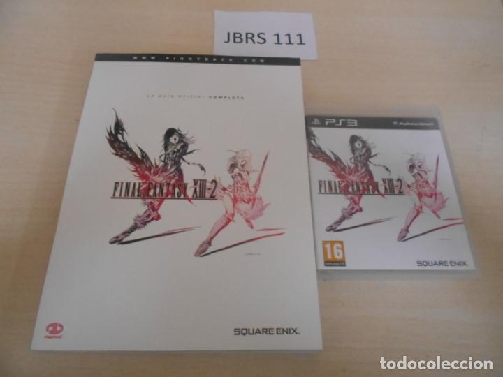 GUIAS - GUIA FINAL FANTASY XIII-2 + JUEGO ORIGINAL , EDICIONES ESPAÑOLAS , COMPLETO (Juguetes - Videojuegos y Consolas - Sony - PS3)
