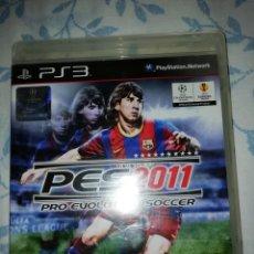 Videojuegos y Consolas: PS3 PES 2011. Lote 173804684