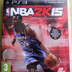 Videojuegos y Consolas: NBA2K15 JUEGO DE BALONCESTO NBA 2K 15. Lote 173964100