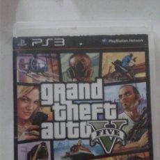 Videojuegos y Consolas: GRAND THEFT AUTO V. PS3 . Lote 174330994