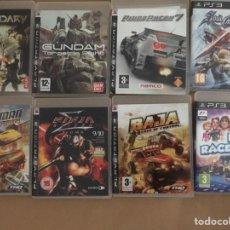 Videojuegos y Consolas: LOTE DE 8 JUEGOS DE PS3 EN INGLÉS ( UNO EN FRANCÉS). Lote 174467197