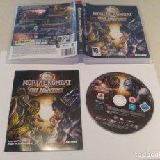 Videojuegos y Consolas: MORTAL KOMBAT VS DC UNIVERSE PLAYSTATION 3 PS3 COMPLETO PAL-ESPAÑA. Lote 174488708
