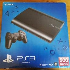 Videojuegos y Consolas: CONSOLA SONY PS3 500GB + DOS MANDOS. Lote 174495252