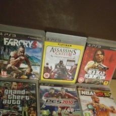 Videojuegos y Consolas: LOTE DE 8 JUEGOS PS3. Lote 174718784