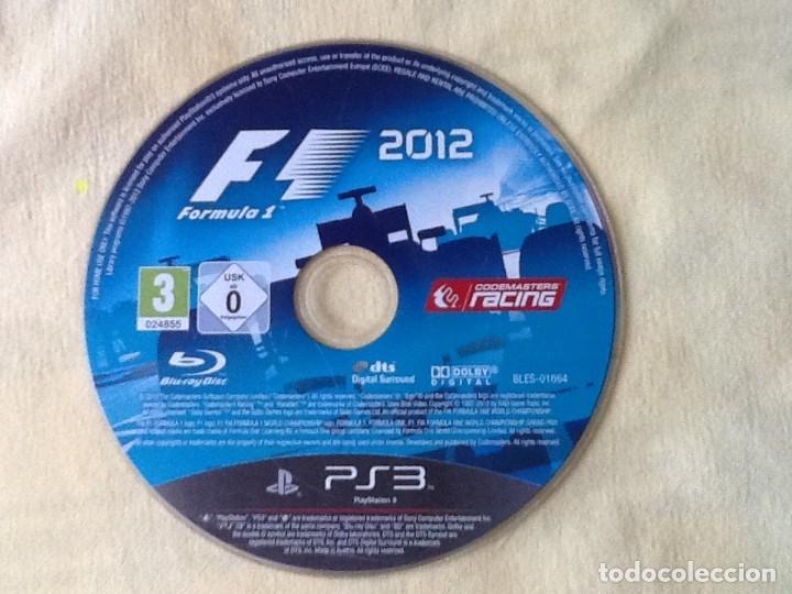VIDEO JUEGO. PLAYSTATION 3, FORMULA 1- 2012. (Juguetes - Videojuegos y Consolas - Sony - PS3)