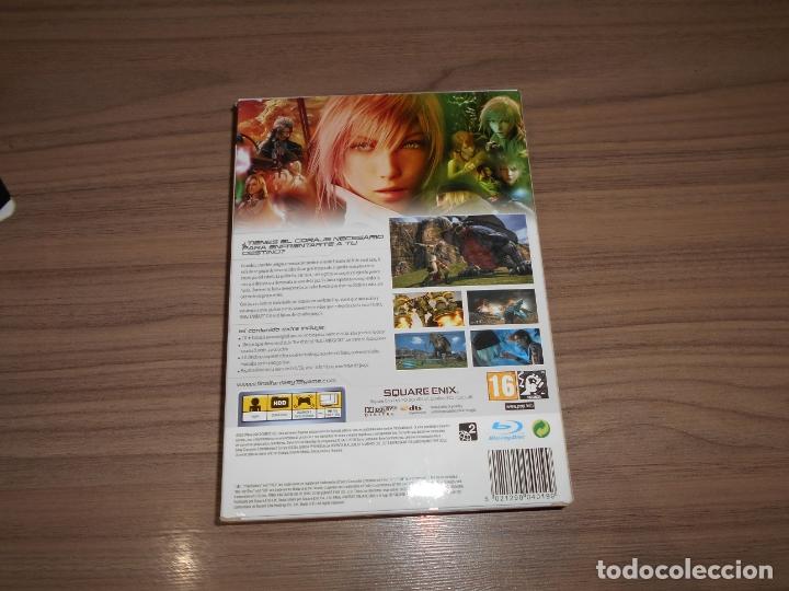 Videojuegos y Consolas: FINAL FANTASY XIII Edicion Limitada Coleccionistas PLAYSTATION 3 Pal España CASTELLANO Libro extras - Foto 9 - 38037494
