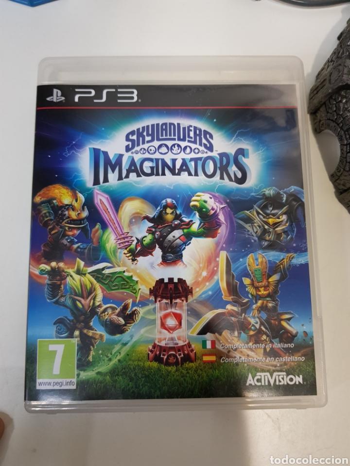 Videojuegos y Consolas: LOTE SKYLANDERS / 3 figuras + Juego PS3 Imaginators + portal de poder / ACTIVISION - Foto 6 - 175637229