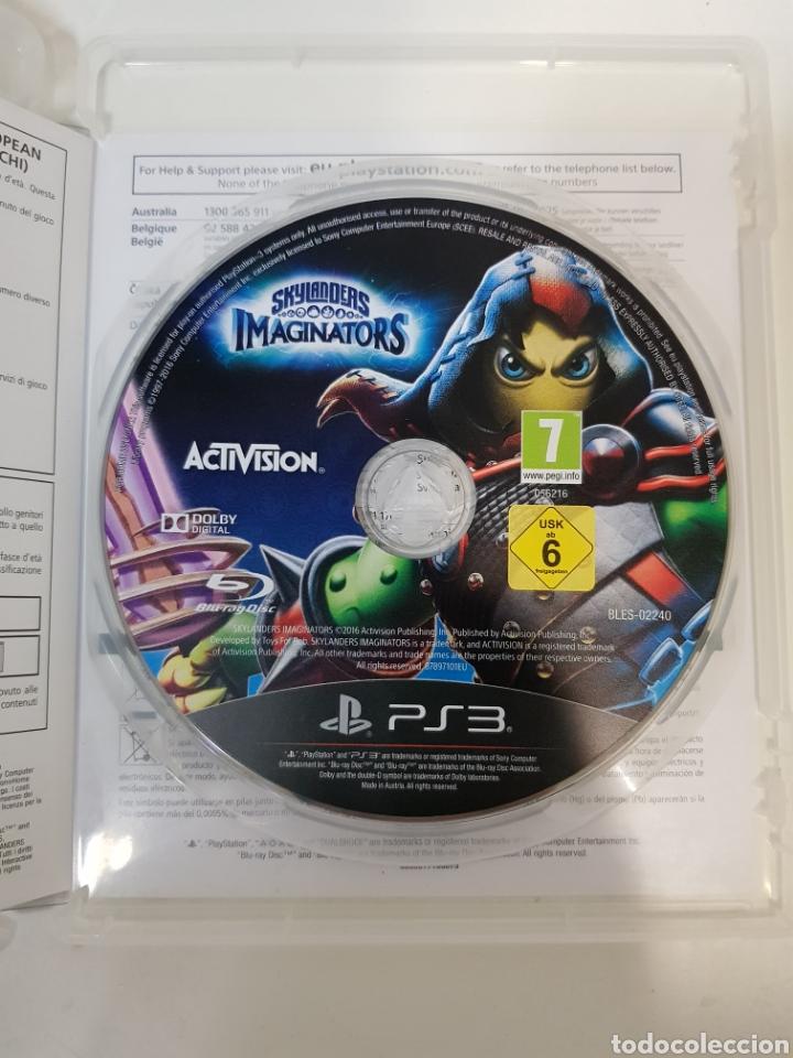 Videojuegos y Consolas: LOTE SKYLANDERS / 3 figuras + Juego PS3 Imaginators + portal de poder / ACTIVISION - Foto 8 - 175637229