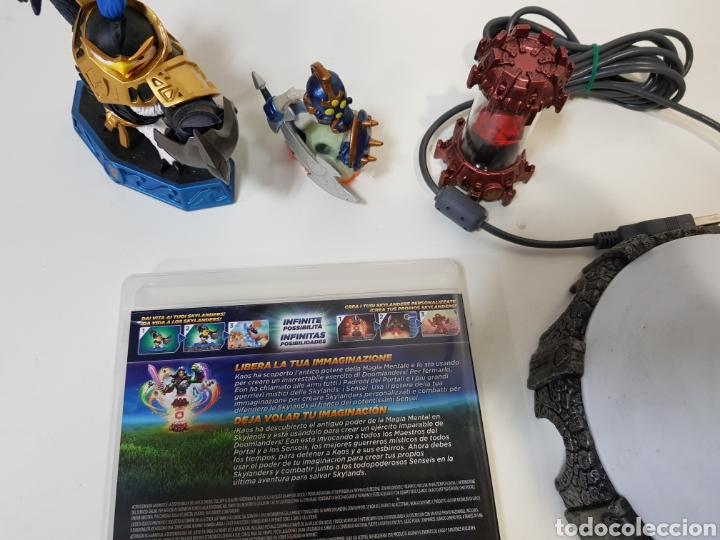 Videojuegos y Consolas: LOTE SKYLANDERS / 3 figuras + Juego PS3 Imaginators + portal de poder / ACTIVISION - Foto 9 - 175637229