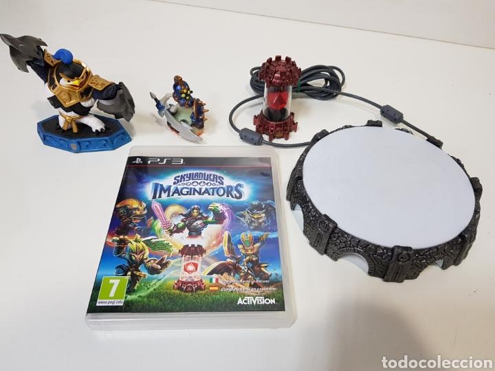 LOTE SKYLANDERS / 3 FIGURAS + JUEGO PS3 IMAGINATORS + PORTAL DE PODER / ACTIVISION (Juguetes - Videojuegos y Consolas - Sony - PS3)
