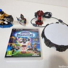 Videojuegos y Consolas: LOTE SKYLANDERS / 3 FIGURAS + JUEGO PS3 IMAGINATORS + PORTAL DE PODER / ACTIVISION. Lote 175637229