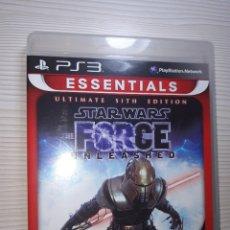 Videojuegos y Consolas: PS3 JUEGO STAR WARS FORCE UNLEASHED - ULTIMATE SITH EDITION. Lote 176083787