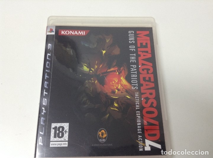 METAL GEAR SOLID 4 GUNS OF THE PATRIOTS (Juguetes - Videojuegos y Consolas - Sony - PS3)