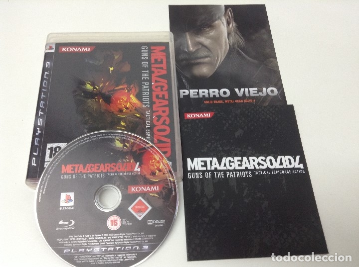 Videojuegos y Consolas: METAL GEAR SOLID 4 GUNS OF THE PATRIOTS - Foto 3 - 176218737