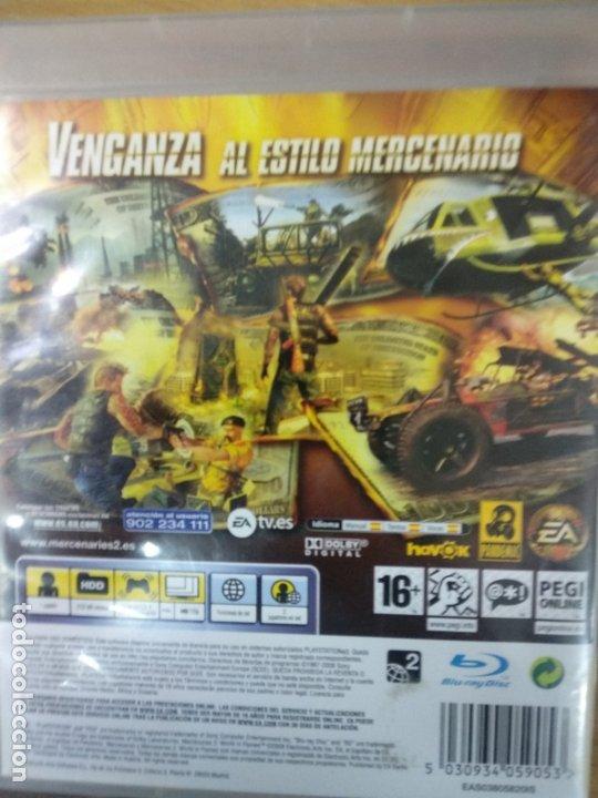 Videojuegos y Consolas: juego play 3 mercenaries 2 world im flames - Foto 2 - 176219857