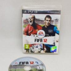 Videojuegos y Consolas: JUEGO PLAYSTATION 3 FIFA 12 - CAR164. Lote 176390868