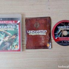 Videojuegos y Consolas: JUEGO PS3 - PLAYSTATION 3 - UNCHARTED - EL TESORO DE DRAKE. Lote 177430964