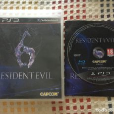 Videojuegos y Consolas: RESIDENT EVIL 6 PS3 PLAYSTATION 3 PLAY STATION 3 KREATEN. Lote 177518513