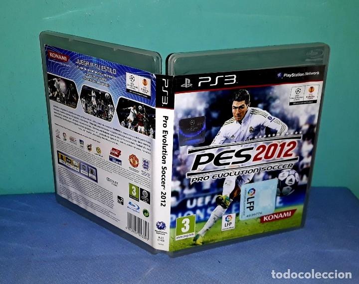 PES 2012 PRO EVOLUTION SOCCER PLAYSTATION PS3 EN MUY BUEN ESTADO VER FOTOS Y DESCRIPCION (Juguetes - Videojuegos y Consolas - Sony - PS3)