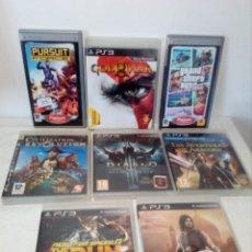 Videojuegos y Consolas: LOTE 6 JUEGOS PS3 Y 2 PSP . Lote 177939035