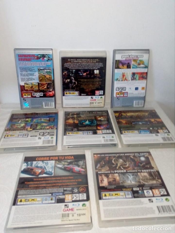 Videojuegos y Consolas: LOTE 6 JUEGOS PS3 Y 2 PSP - Foto 2 - 177939035