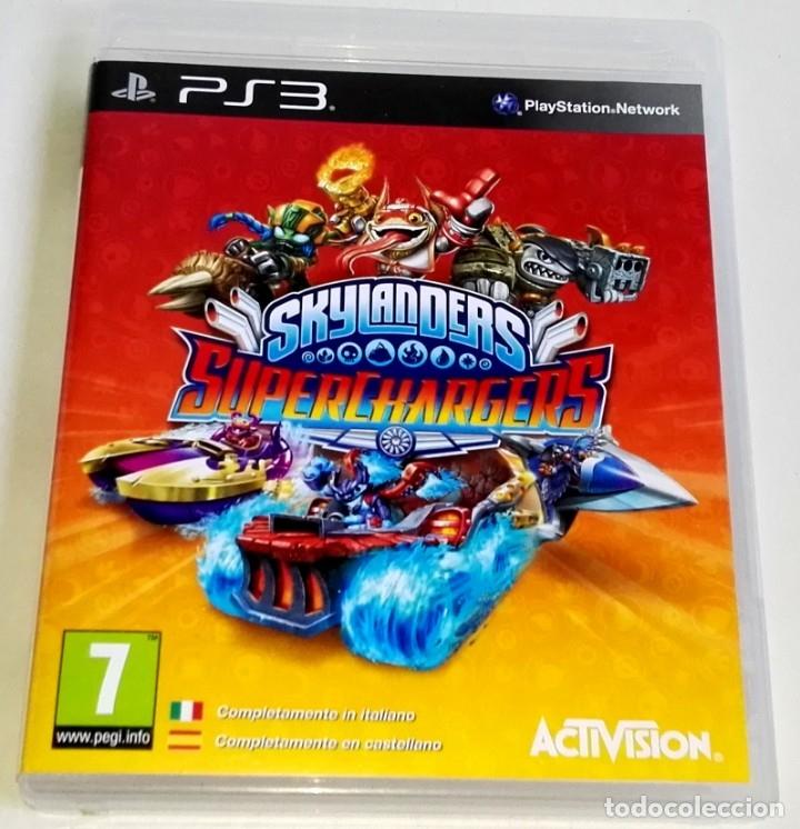 PLAYSTATION 3 - SKYLANDERS SUPERCHARGERS - ACTIVISION (Juguetes - Videojuegos y Consolas - Sony - PS3)