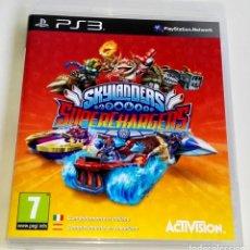 Videojuegos y Consolas: PLAYSTATION 3 - SKYLANDERS SUPERCHARGERS - ACTIVISION. Lote 178726531