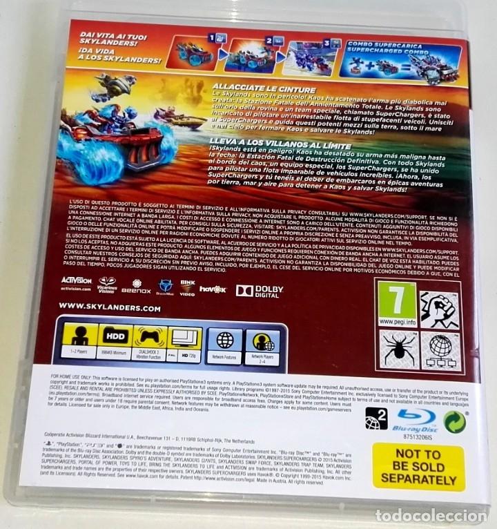 Videojuegos y Consolas: PlayStation 3 - Skylanders Superchargers - Activision - Foto 2 - 178726531